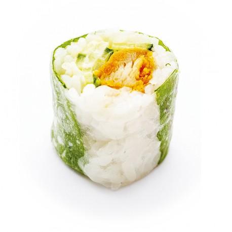 spring rolls poulet salade