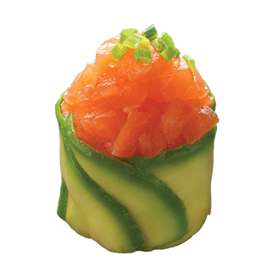 tulip concombre saumon sauce