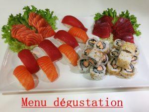 menu degustation